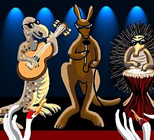 Aussie Rockers by goanna