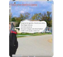 Jacques Marteau: Keeping it Vrai iPad Case/Skin