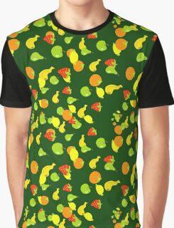 Fruit Pattern Graphic T-Shirt