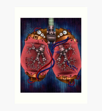 Lungs Art Print