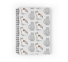 Cute Cat Friends  Spiral Notebook