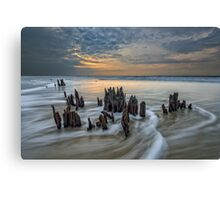 The Low Country - Botany Bay Plantation Canvas Print