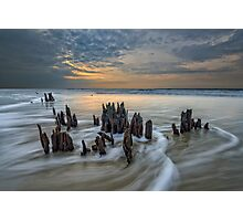 The Low Country - Botany Bay Plantation Photographic Print