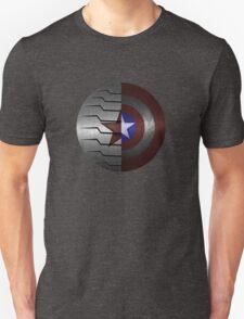 Steve and Bucky Shield Unisex T-Shirt