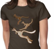 3 Roos Womens Fitted T-Shirt
