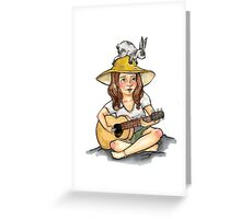 Songs of N A T U R E Greeting Card