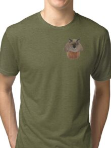 Muffin Cat Tri-blend T-Shirt