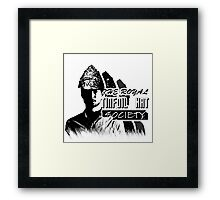 The Royal Tinfoil Hat Society Framed Print