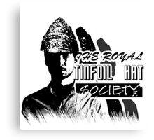 The Royal Tinfoil Hat Society Canvas Print