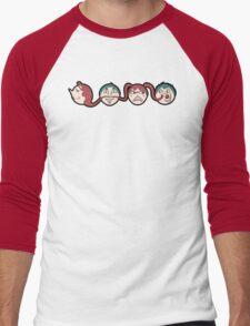 Four Share Hair Men's Baseball ¾ T-Shirt