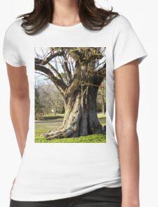 Champion Osage Orange Tree Womens Fitted T-Shirt