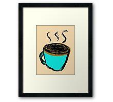 Jeff's Mug Framed Print