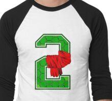 Turtle Shell Jersey Number - 2 Men's Baseball ¾ T-Shirt