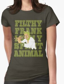Papa Franku Womens Fitted T-Shirt