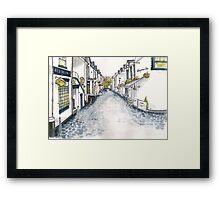 Ashton Lane, Glasgow Framed Print