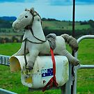 Toy Horsey Box by Penny Smith