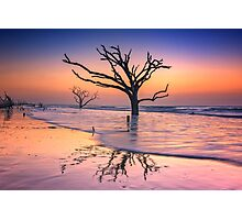 Reflections Erased - Botany Bay Photographic Print