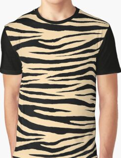 0450 Navajo White Tiger Graphic T-Shirt