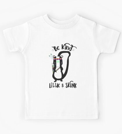 Woodland Skunk Kids Tee