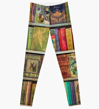 A Daydreamer's Book Shelf Leggings