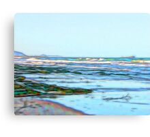 Fabulous abstract ocean view of the Pacific Ocean Canvas Print