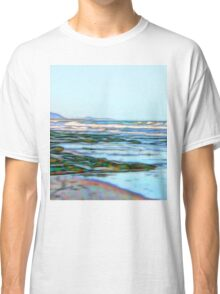 Fabulous abstract ocean view of the Pacific Ocean Classic T-Shirt