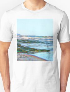 Fabulous abstract ocean view of the Pacific Ocean Unisex T-Shirt
