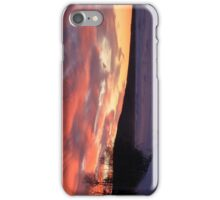 Wintry Sunset iPhone Case/Skin