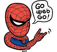 Go Web Go! Photographic Print