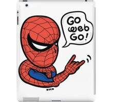 Go Web Go! iPad Case/Skin