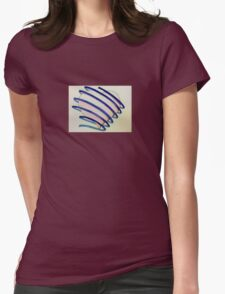 Wrapped Around My Heart Womens Fitted T-Shirt