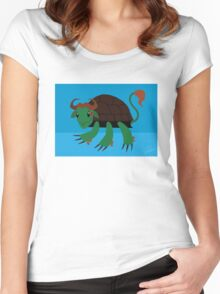 Buffalo - Red-Eared Slider Women's Fitted Scoop T-Shirt