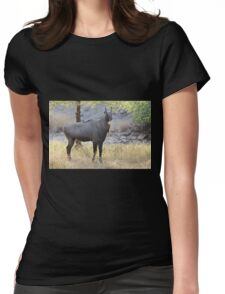 The Nilgai is the largest Asian antelope Womens Fitted T-Shirt