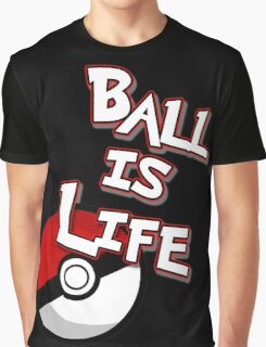 Poke-Ball is Life Graphic T-Shirt