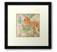 Let Them Eat Cake Framed Print