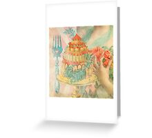 Let Them Eat Cake Greeting Card