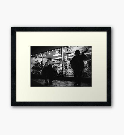 Street Dreams Framed Print