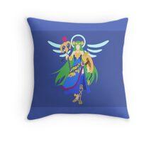 Palutena (Pandora) - Super Smash Bros. Throw Pillow