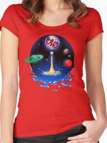 E.L.O. Universe Women's Fitted Scoop T-Shirt