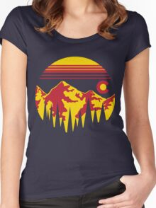 Colorado Skies Women's Fitted Scoop T-Shirt