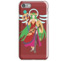 Palutena (Viridi) - Super Smash Bros. iPhone Case/Skin
