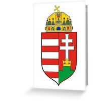 Coat of Arms of the Kingdom of Hungary Greeting Card