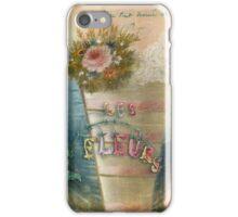 Les Fleurs iPhone Case/Skin