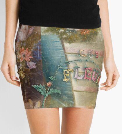 Les Fleurs Mini Skirt