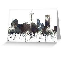 Calgary, Alberta Skyline, CANADA - CRISP Greeting Card