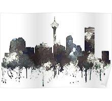 Calgary, Alberta Skyline, CANADA - CRISP Poster