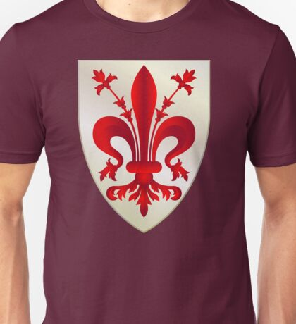 Coat of arms of the Republic of Florence Unisex T-Shirt