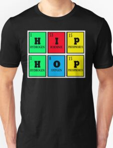 THE 4 PERIODIC ELEMENTS OF HIP-HOP T-Shirt