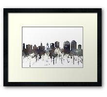 Halifax, Nova Scotia, Canada Skyline - CRISP Framed Print
