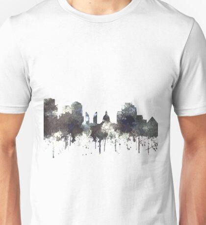 Edmonton, Alberta, Canada Skyline - CRISP Unisex T-Shirt